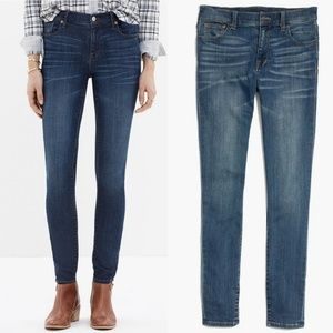Madewell High Rise Skinny Jeans Size 25
